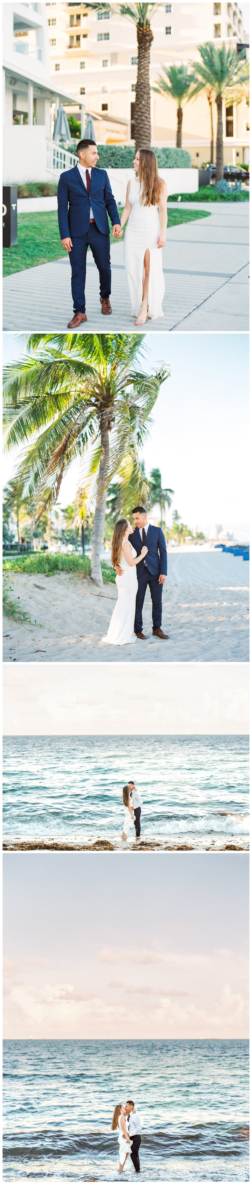 conrad fort lauderdale beach by hilton hotels wedding photos