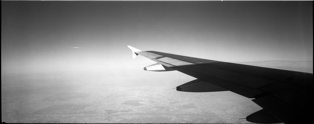 Somewhere over Switzerland on Fomapan 400, 1/125, f8