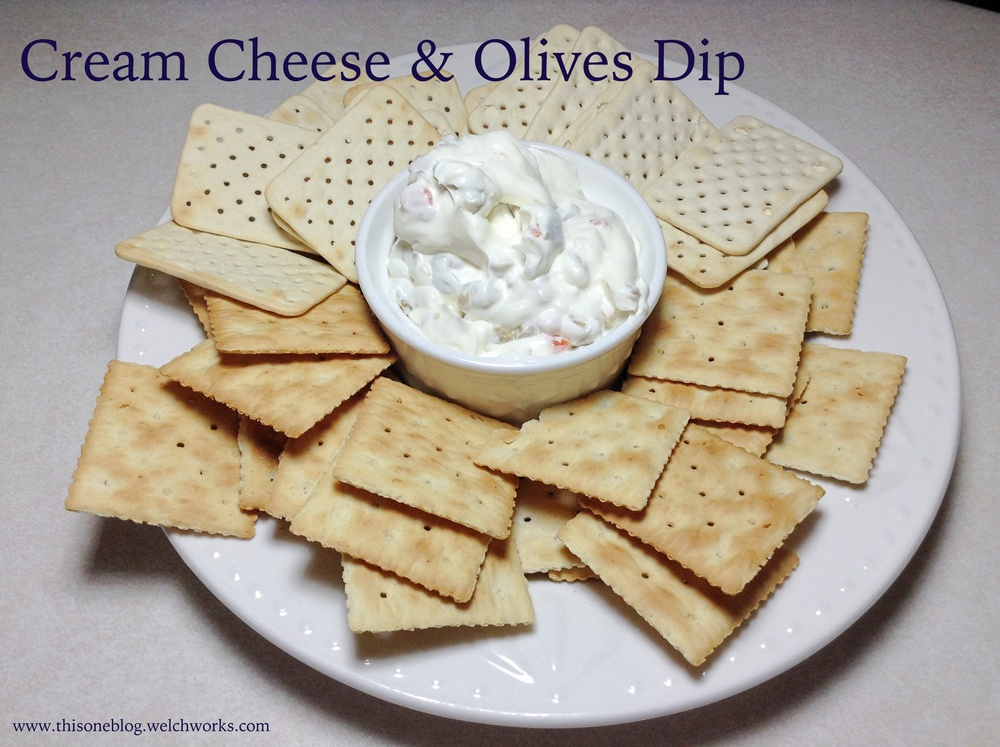 cream cheese and olives dip