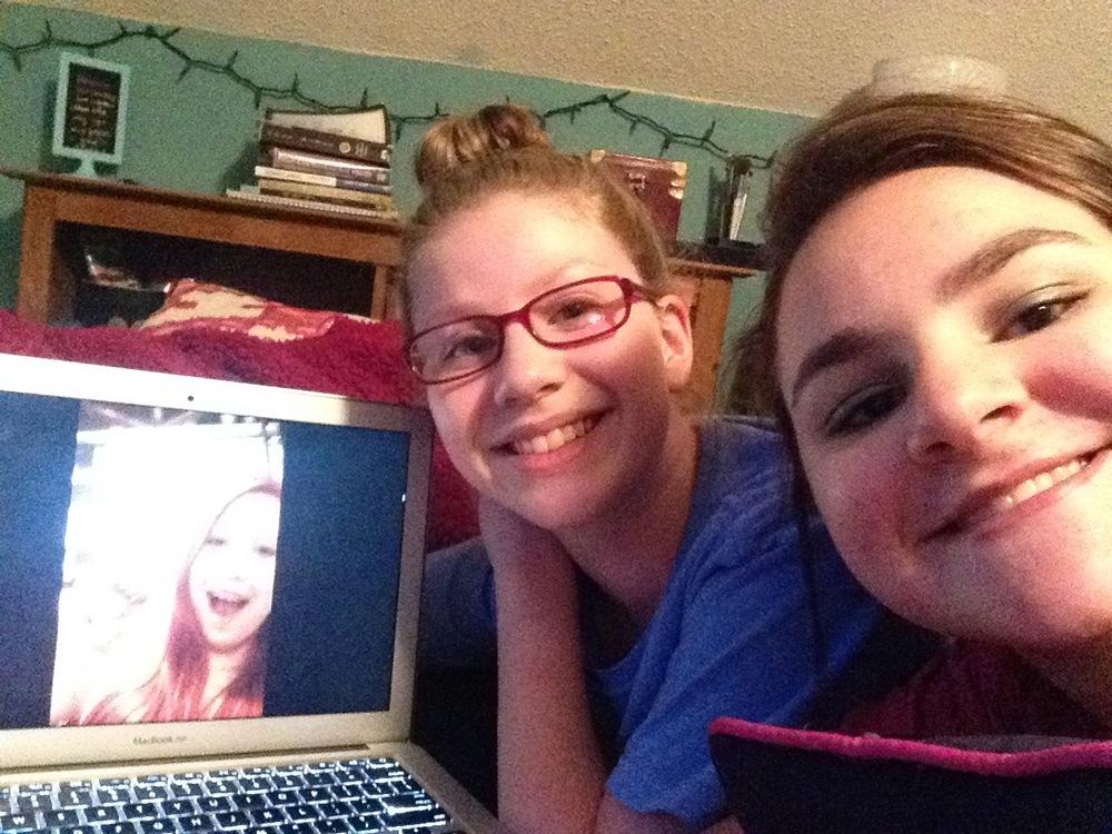 Yes, we take FaceTime selfies:)