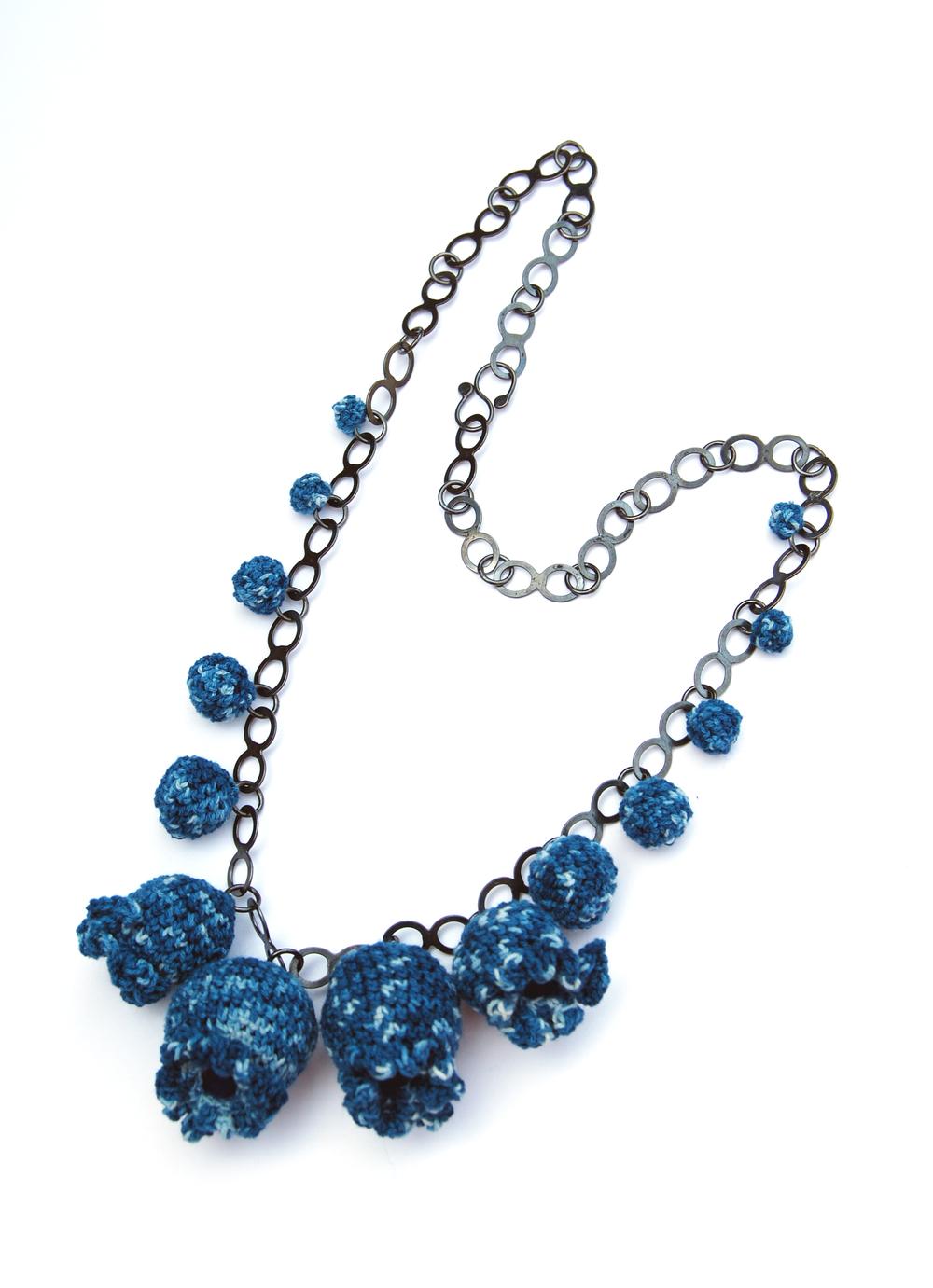 Blue Garden Neckpiece
