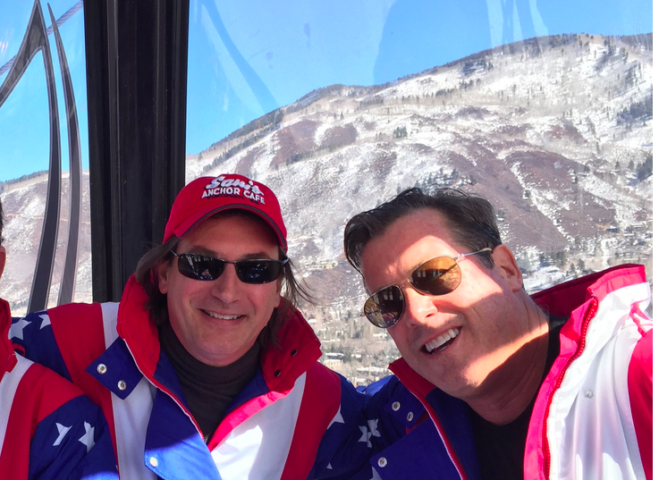 Rip with Erik Smith in Aspen (March 2017)