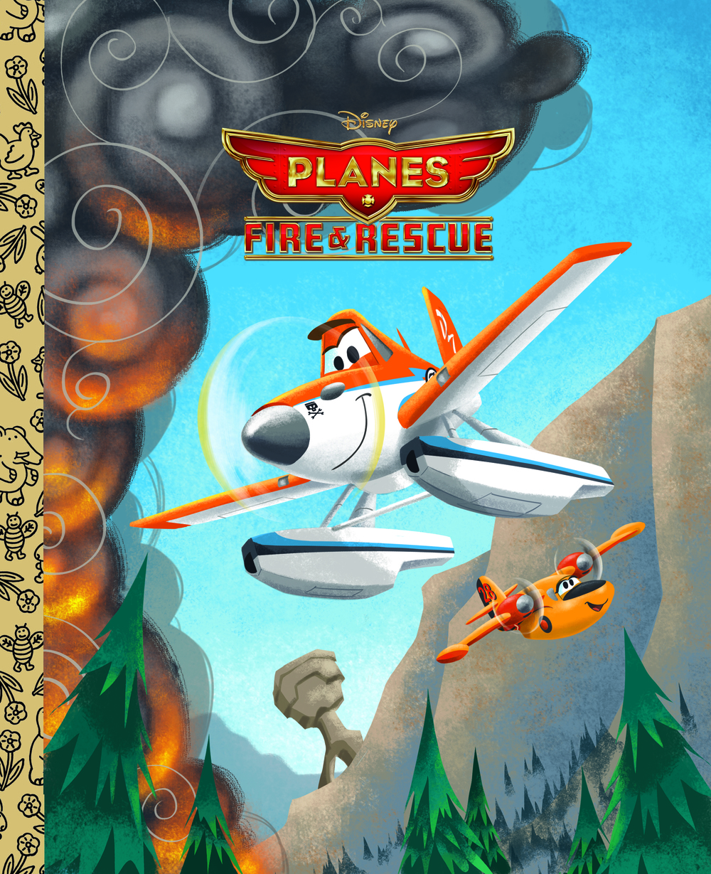 Planes: Fire & Rescue Little Golden Book
