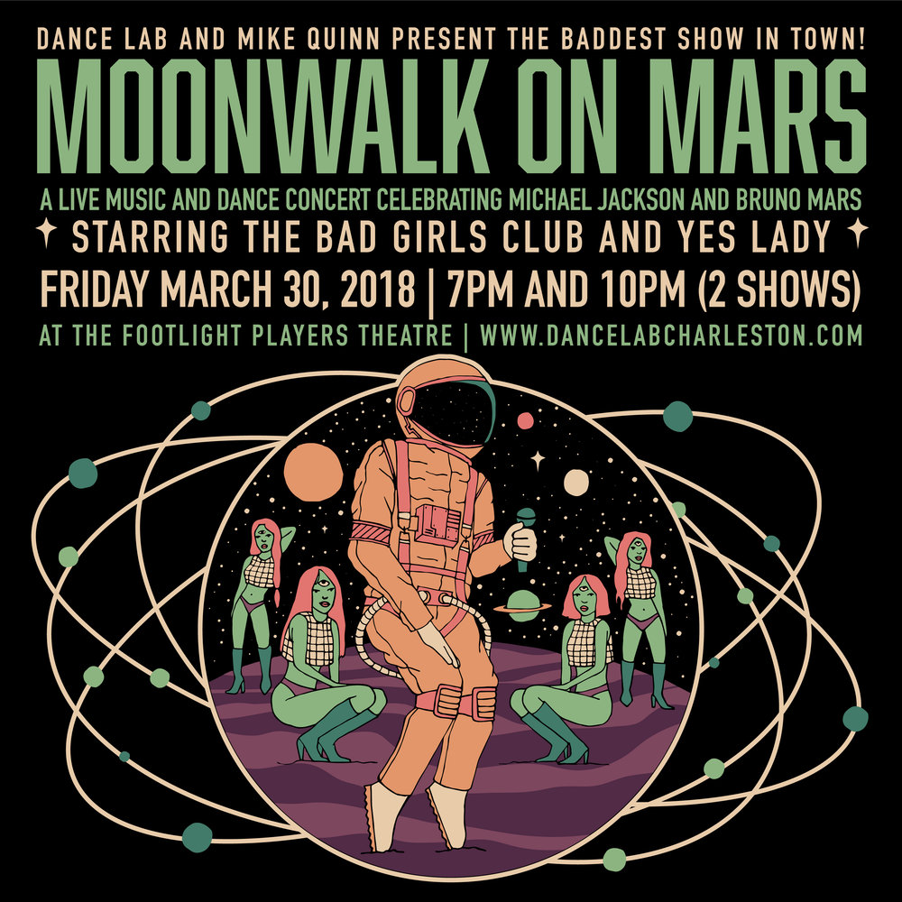"CATCH THE BAD GIRLS CLUB IN THEIR SHOW ""MOONWALK ON MARS"" ON MARCH 30TH!   TICKETS GO ON SALE 1.30!!!"