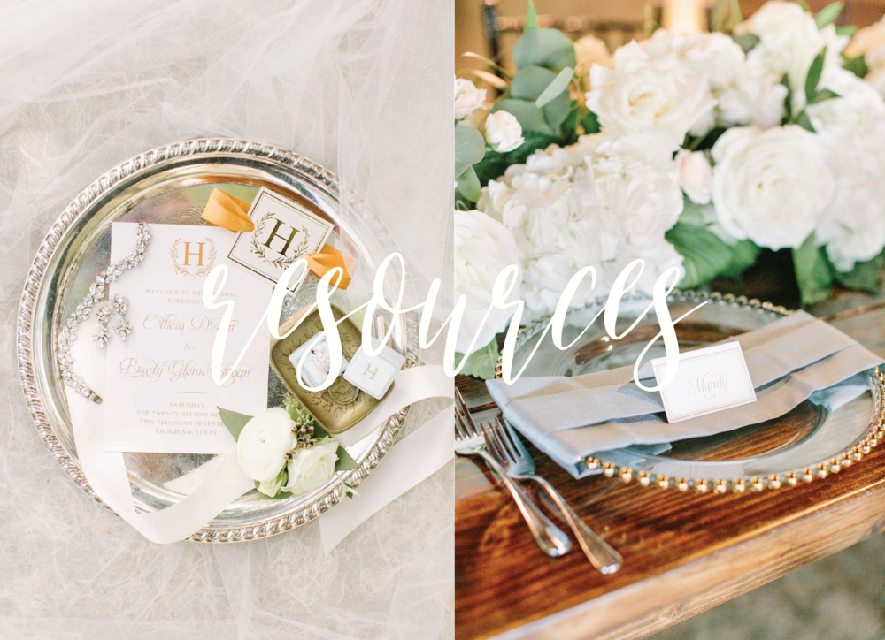 classic ivory and gold program with logo suite