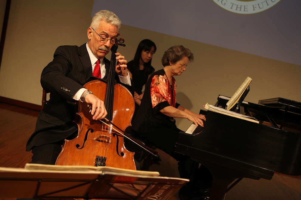 American Academy of Arts and Sciences, 2012   Beethoven A Major Sonata presentation with Lewis Lockwood
