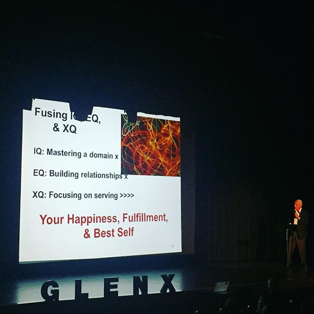Bob Vanourek on #XQ to wrap up the 2016 Glen X Success Summit! Thank you to all who came out and all who made this happen! #glenx #glenx2016