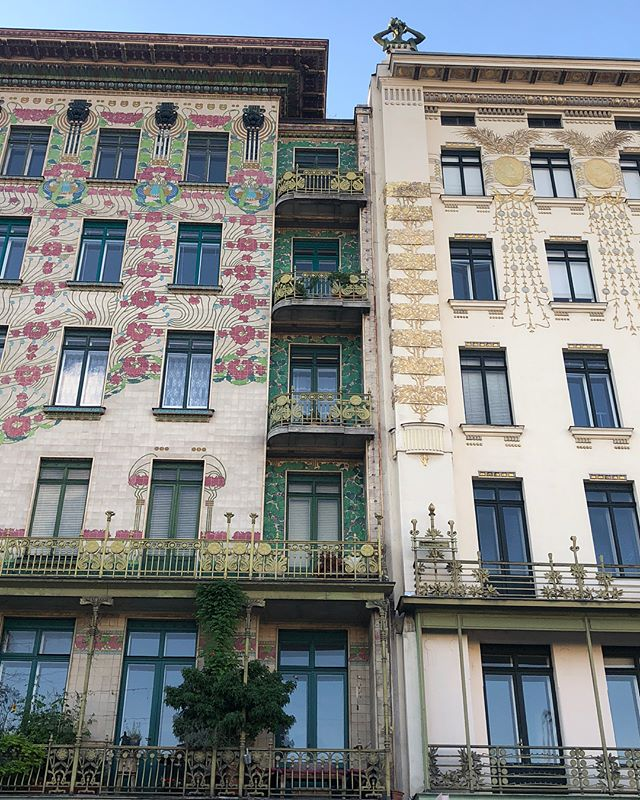 #tbt wishing I was still in this beautiful city...art nouveau highlights