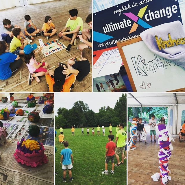 Day Two was a blast!  A little rain didn't stop our Fun!  #ultimateXchange #americanenglishfuncamp #FULLenglishimmersion #villaburi