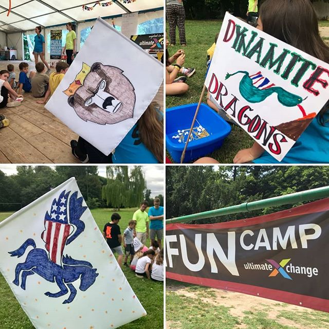 King Bears! Dynamite Dragons! Powerful Pegasai! Go Teams GO!! #ultimateXchange #americanenglishFUNcamp #FULLenglishimmersion