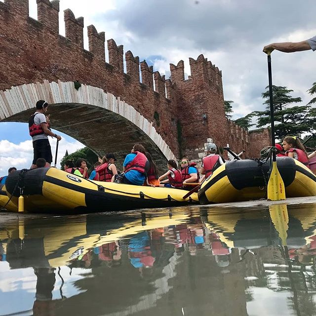 Today was a day for RAFTING. We had so much fun and a great way to end week one. #ultimateXchange #americanenglishfuncamp #englishinaction