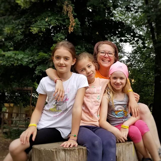 The rain is not going to get us down today! We're ready for another great week at camp! Bring on Week 2! #ultimateXchange #americanenglishfuncamp #englishinaction #englishforkids #verona