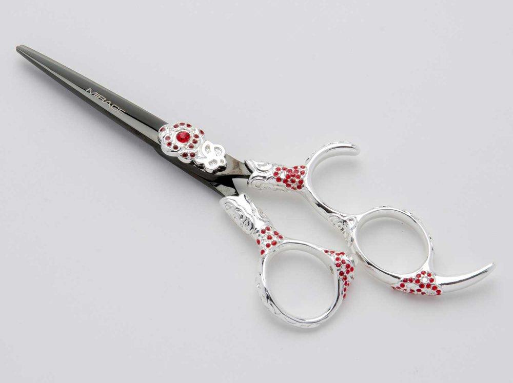 mirage-flamenco-black-silver-red-flower-hair-cutting-shears.jpg
