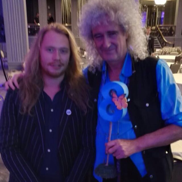 Brian May at the animal hero awards 2016