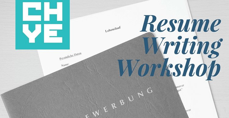 resume writing workshop chye