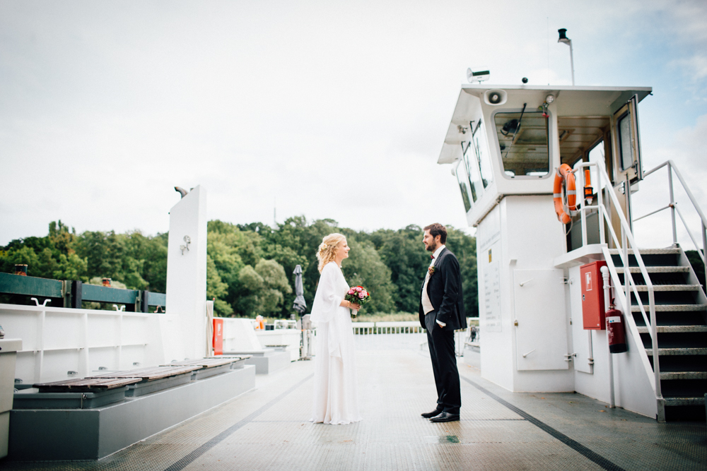 the ferry at Wannsee