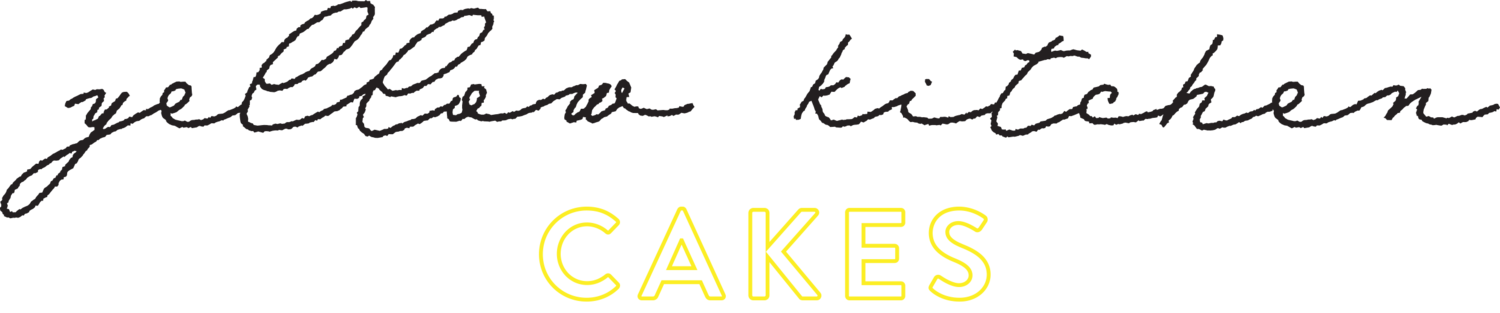 Yellow Kitchen Cakes
