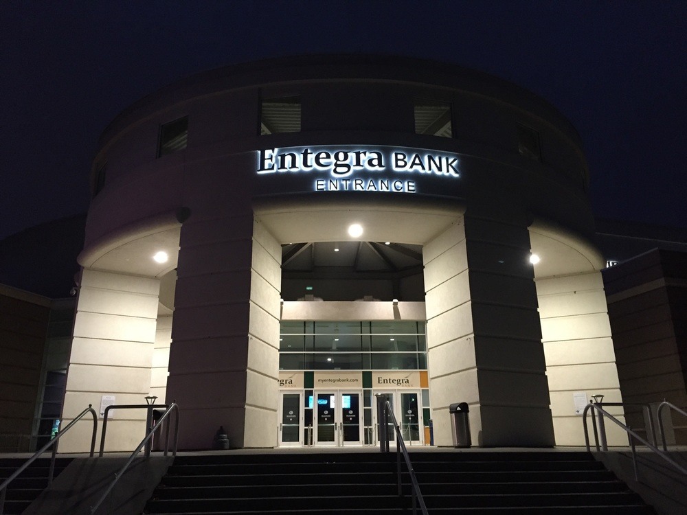 Impression Sports secures 5-year entrance naming rights deal with Entegra Bank. Over the past few years, Impression has secured 3 distinct naming rights partners for the arena resulting in significant annual revenue for the Greenville Arena District.