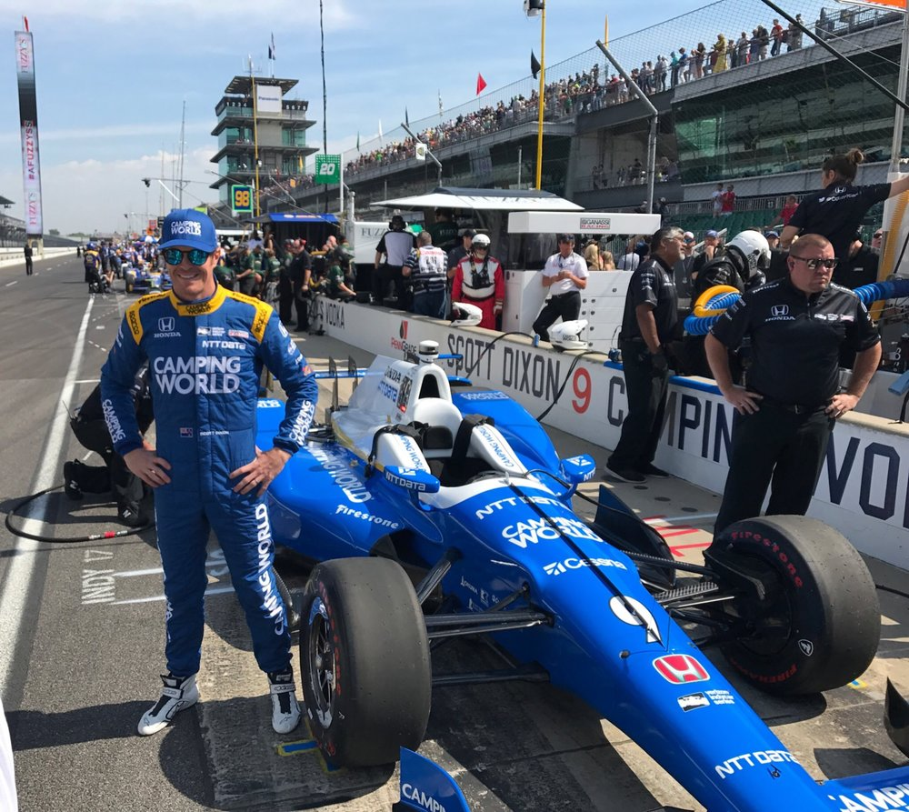 Impression Secures Camping World as Primary Sponsor for Scott Dixon's #9 Car in Indy 500
