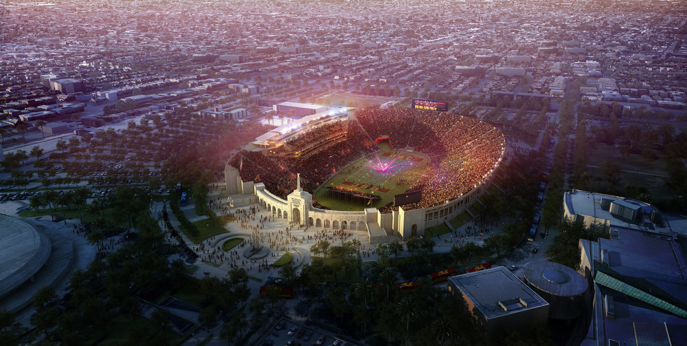 United Airlines Secures LA Coliseum Naming Rights