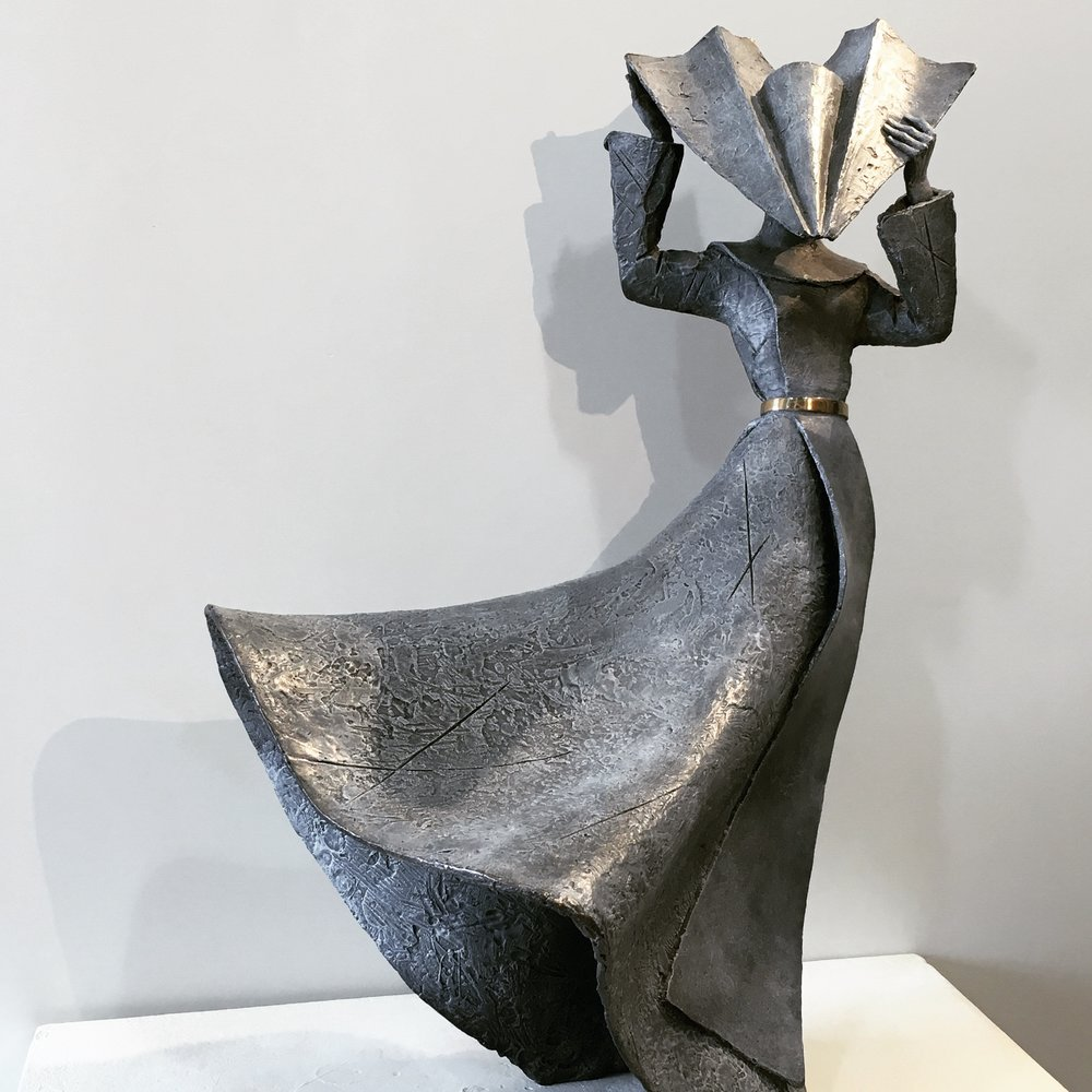 Gale Force Nun II; the breathtaking sculpture we've selected on behalf of a Client for a project