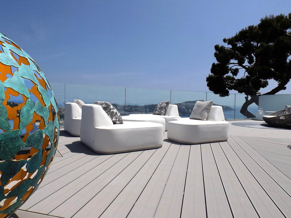The Contemporary Furniture Is Multi Functional And The Client Wanted The Rooftop  Furniture To Differ To The Exterior Furniture Elsewhere In The Property So  ...