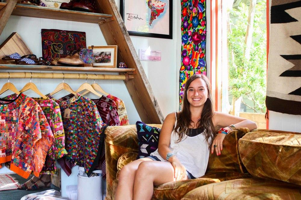 A Conversation with Sophie at Teysha via UBUNTU Blog