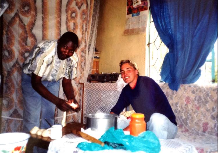 Zane and Jeremiah - Olden Days
