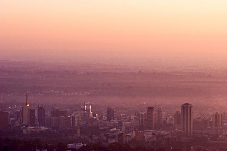 Nairobi Rose Dawn by Georgina Goodwin via UBUNTU Blog