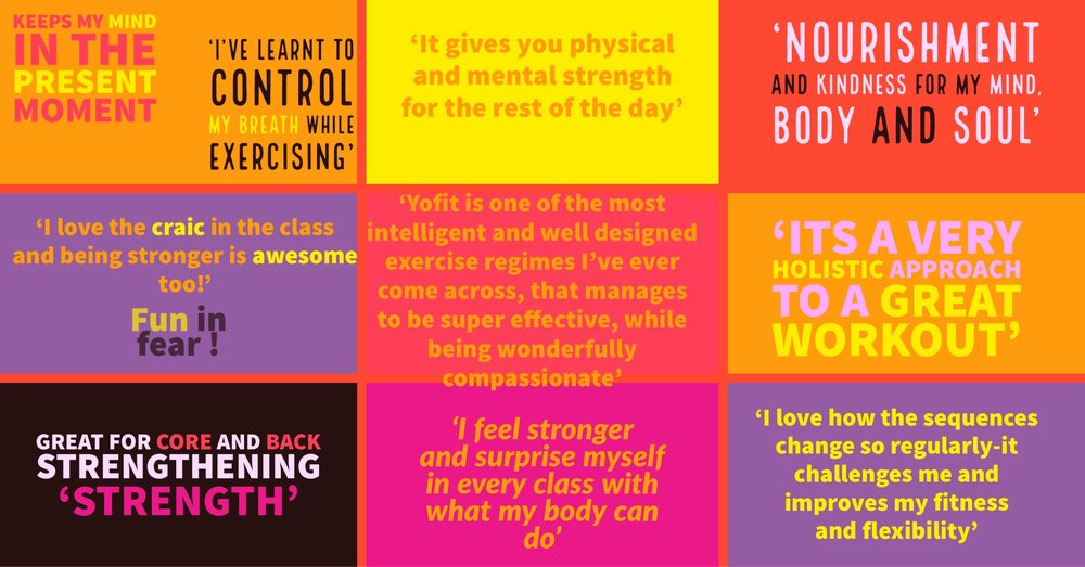 How Yo!Fit Can Benefit You - what our class attendees say