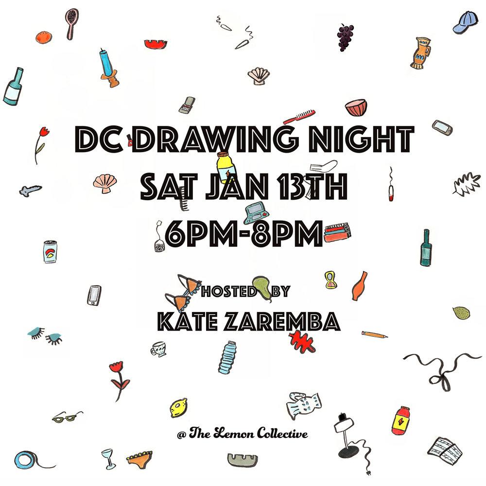 DC Drawing Night KZ