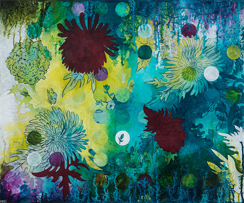 Dot Underwater Wildflowers (sold)