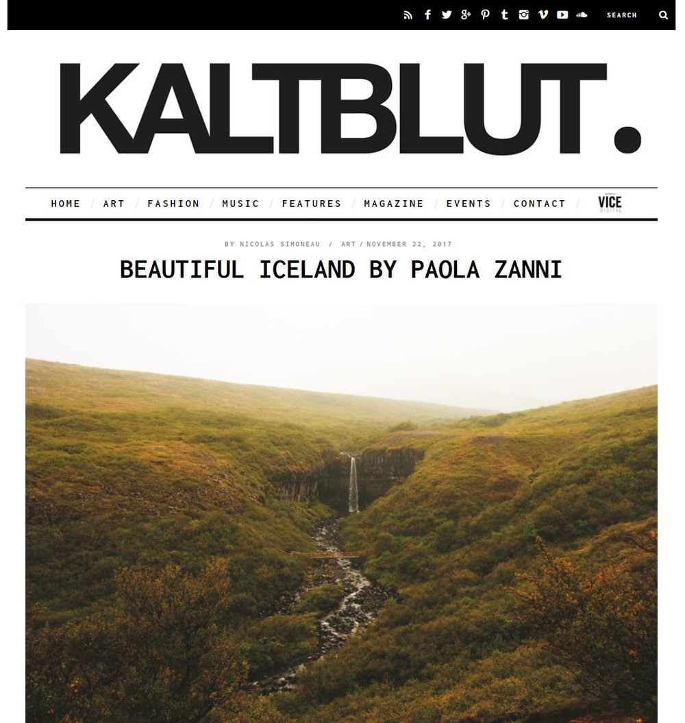 KALTBLUT. MAGAZINE, December 2017