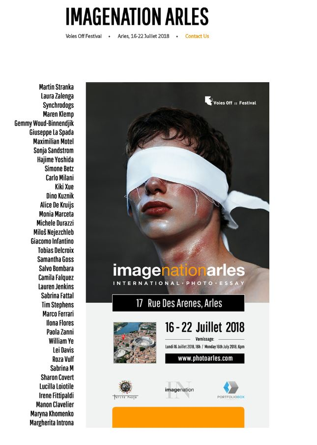 IMAGINENATION Exhibition in Arles, July 2018