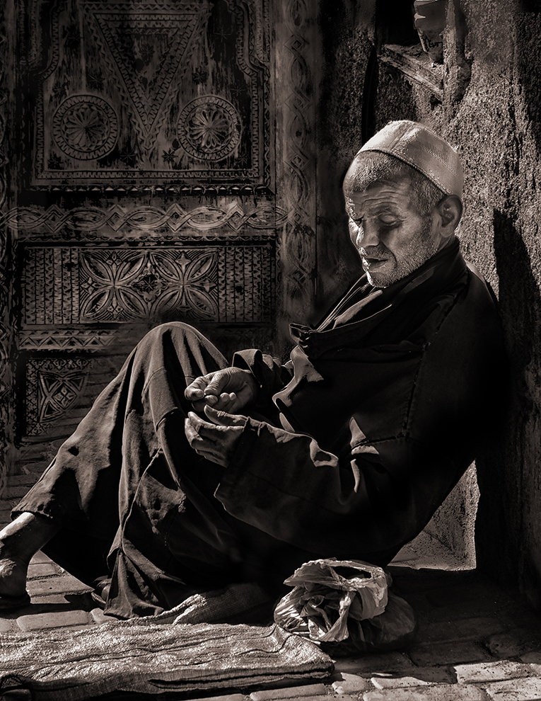 "Edward Masterson ""Moroccan Blind Sepia"""