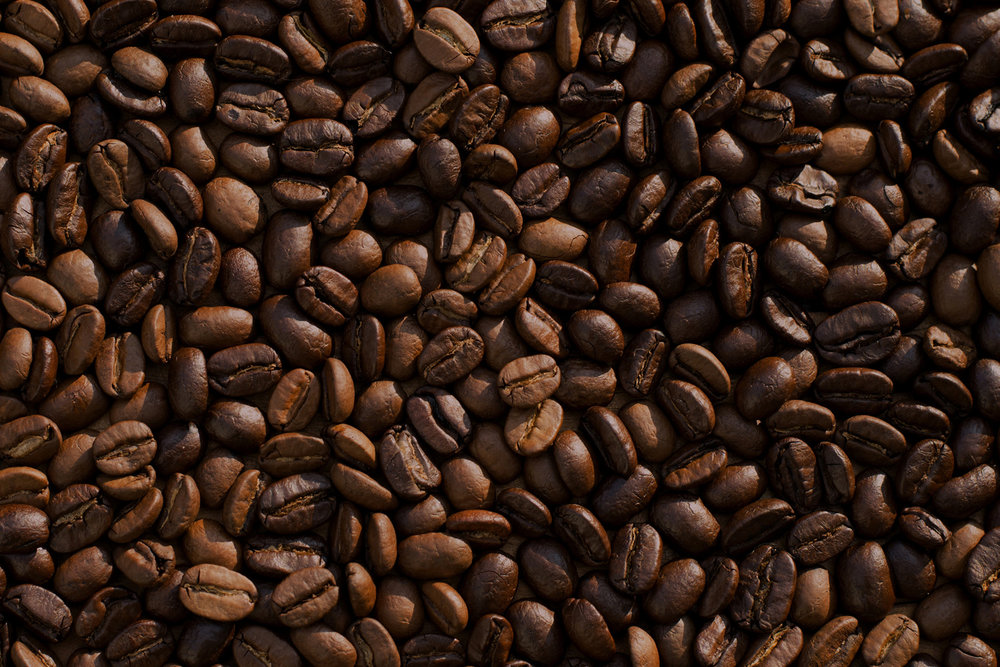 Photograph of coffee beans
