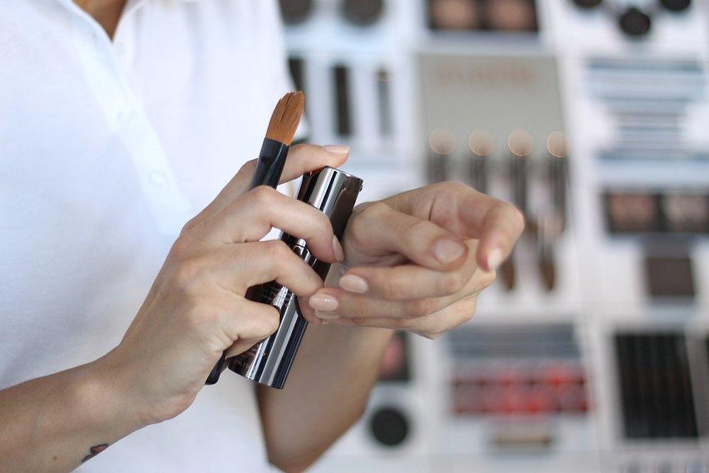 Demonstração dos produtos