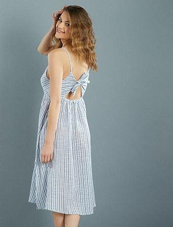 vestido-de-algodao-as-riscas-com-laco-atras--rayure-mulher-do-34-ate-48-vn090_1_fr2.jpg