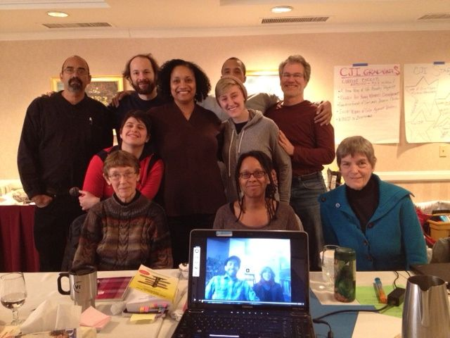 CJI Circle Members at a Grantmaking Meeting