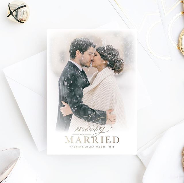 Share the news of your special day this holiday season with our all new foil stamped Holiday Card collection! Launching next week, our collection will feature a variety of cards perfect for you and your family! Stay tuned! xo #droletpaperie #foilstamping #holidaycard #merryandmarried #goldfoil #itsallinthedetails #weddinginvitations #letterpress