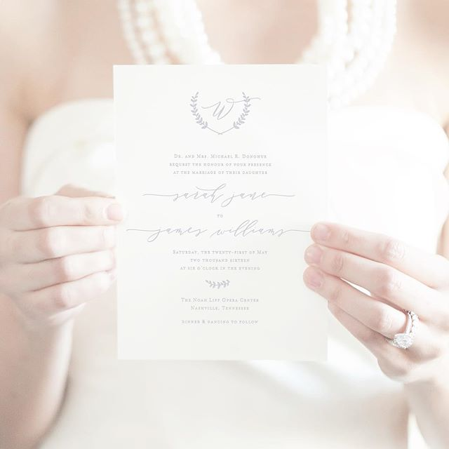 Sometimes, simple is all you need... Our Janey invitation is  currently available in our house collection and ready for you to make your own! xo #droletpaperie #weddinginvitations #letterpress #dpbride #itsallinthedetails