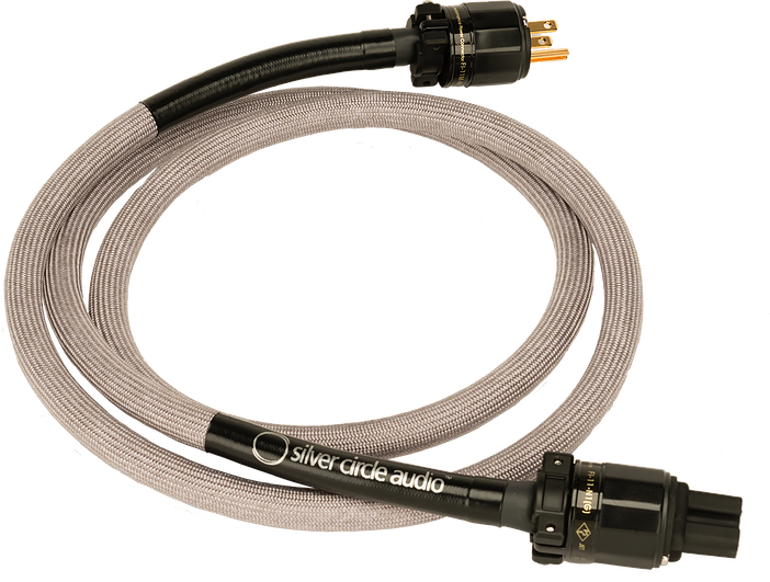 Silver Circle Audio Vesuvius Power Cord