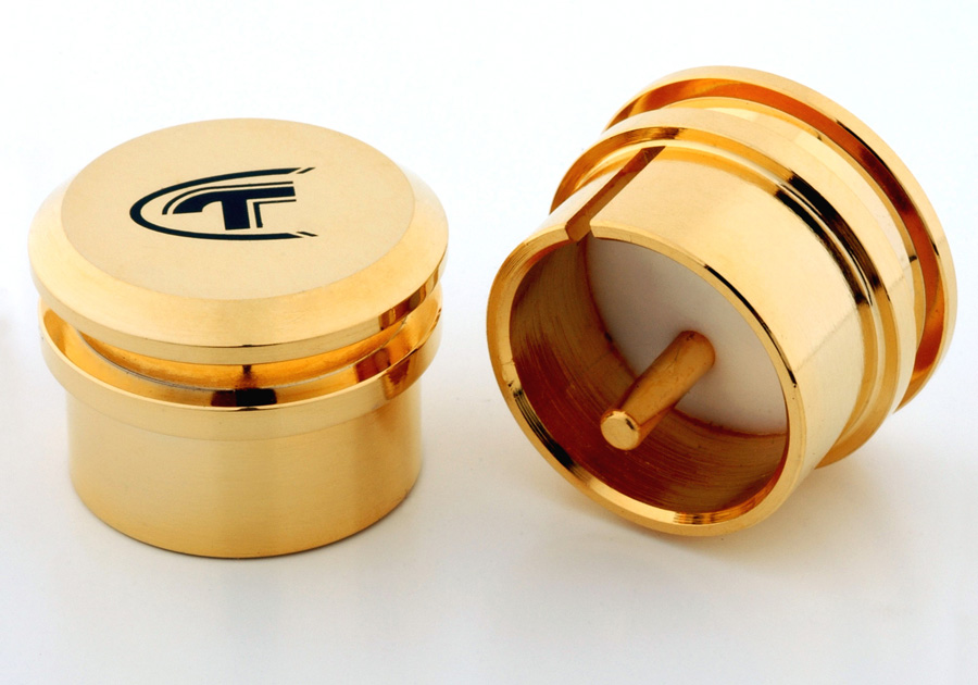 Telos Audio Design Gold-Plated XLR Cap (Male)