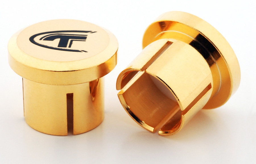 Telos Audio Design Gold-Plated RCA Cap