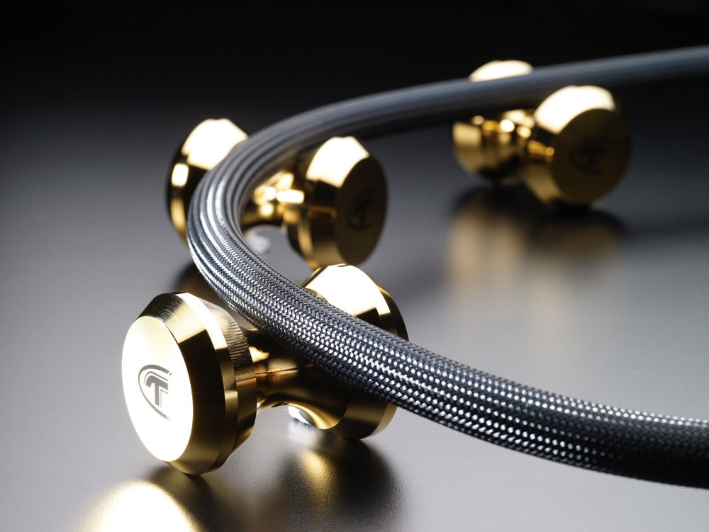 Telos Audio Design Pure Copper Gold-Plated Cable Stand