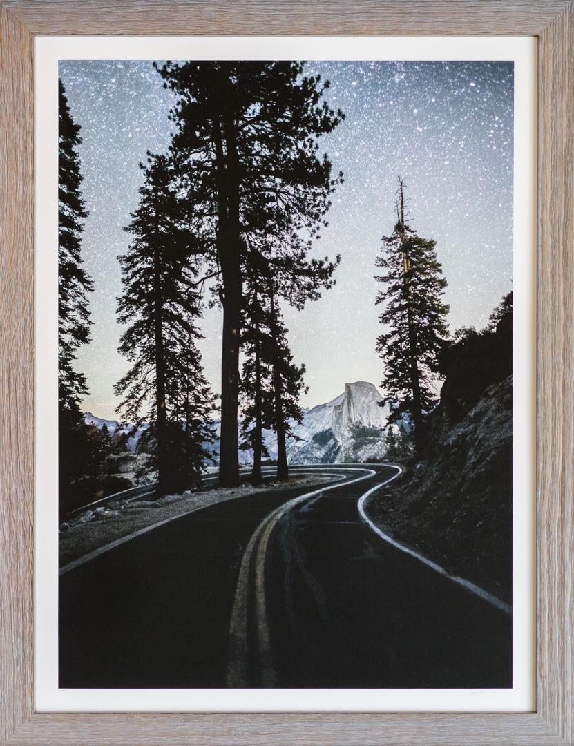 Stars Over Glacier Point Road and Half Dome