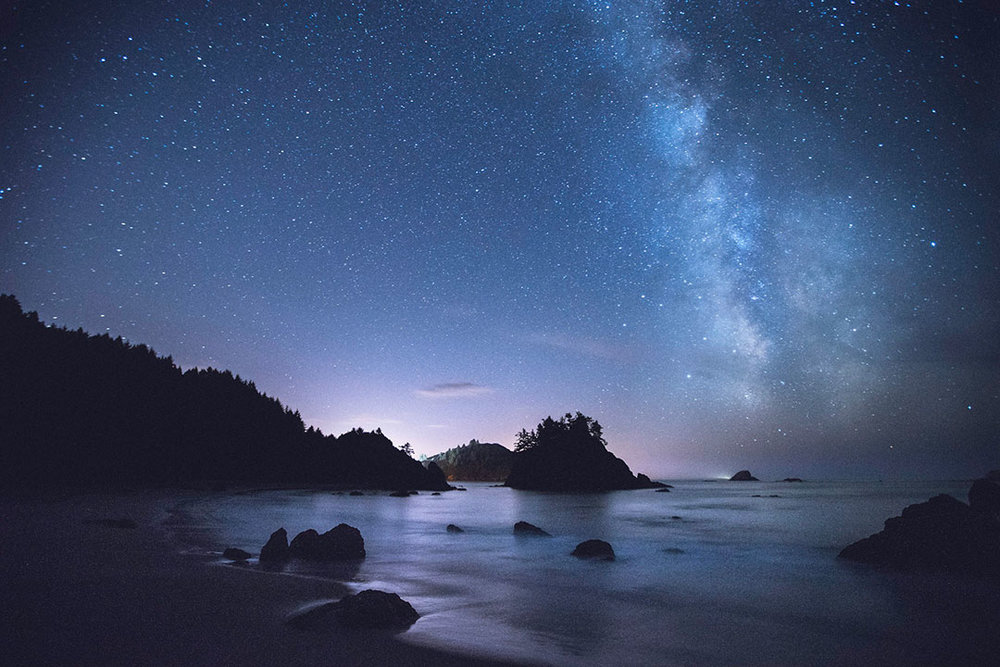 The Milky Way Over College Cove