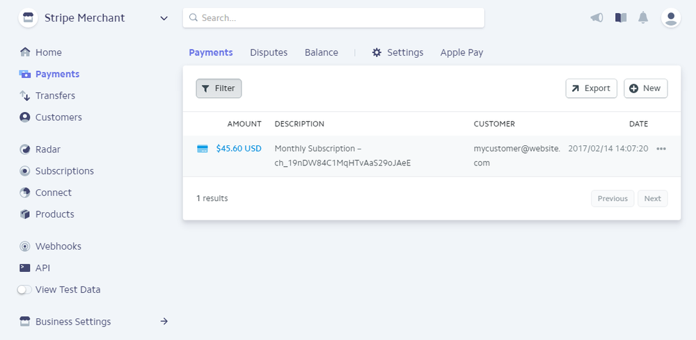 new feature update stripe customer detail commerce sync