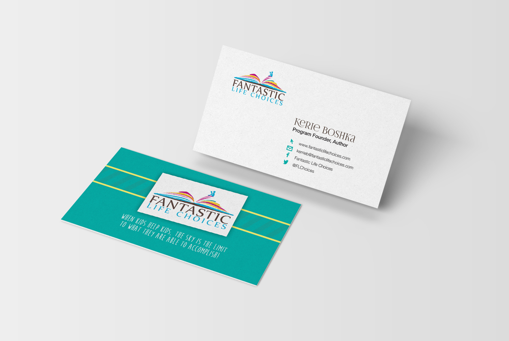 Fantastic Life Choices business card and brochure design — KRISTEN ...