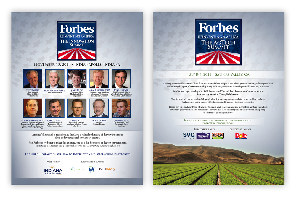 Forbes Reinventing America Summit Series